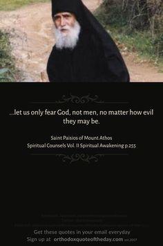 Elder Paisios of Mount Athos Holy Quotes, True Quotes, Bible Quotes, Spiritual Wisdom, Spiritual Awakening, Trust In Jesus, Church Quotes, Saint Quotes, Love Words