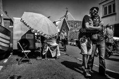Trip naar Pas de Calais Frankrijk stelletje in Audresselles