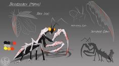 LUNAverse Fanon - Grimm Mantis by Lightning-in-my-Hand.deviantart.com on @DeviantArt