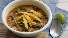 This lentil soup recipe with kale and barely is light and filling that requires little preparation. Get this soup recipe at PBS Food.