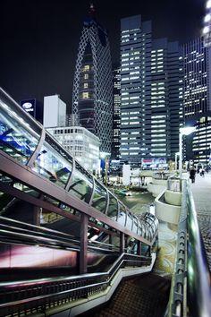 Tokyo - Shinjuku in front of the train station