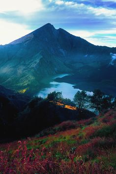 Monte Rinjani, Indonésia. Fotografia: Herry.