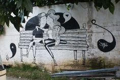 El amor de pared de Alex Senna | OLDSKULL