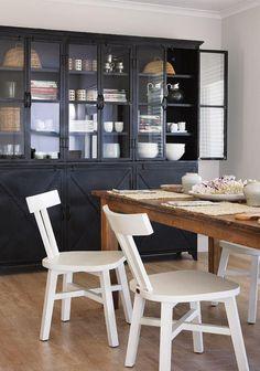 buffet de salle a manger, buffet style industruiel et mobilier rustique de salle à manger