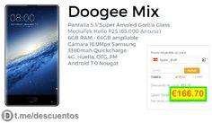 Teléfono inteligente Dooge Mix 6GB/64GB por 166 - http://ift.tt/2rI6XvU