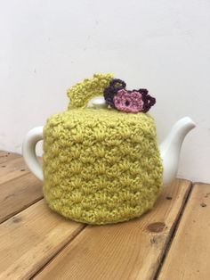 Beautiful Vintage Look Handmade Teapot Cosy by LucysPatternBox