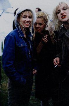 Kim Gordon, Kat Bjelland, Courtney Love