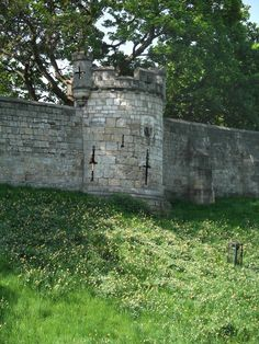 A section of the Roman wall at York - I have walked the wall. It is so cool.