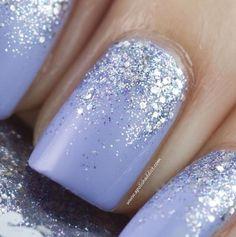 I found 'Glittery Winter Nails' on Wish, check it out!