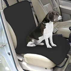 Powkoo Water-proof Pet Car Front Seat Cover for Dog Cat Puppy Seat Protector Mat Blanket - Brought to you by Avarsha.com