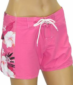 $19.95 Cute Women's board shorts! Perfect for catching waves or playing a game of beach volley ball!