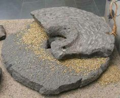 Photo of quern-stone