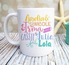 LulaRoe Coffee Mug custom mug personalized mug by WildMeadowPress