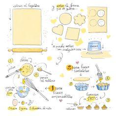 Cartoon Cooking: hojaldre, empadillas y tartaletas
