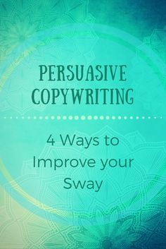Does the concept of being persuasive totally befuddle and confound you? Fret ye not! It's actually easier than you think! #marketing #copywriting #persuasion #persuasive #advertising #blog #blogger #blogging #obsidiancontent #jeniilowe
