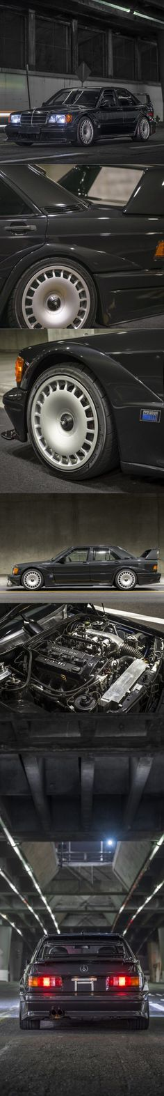 1990 Mercedes-Benz 190E 2.5-16 Evo 2 / 502pcs / 235hp / Germany / black / homologation / Silodrome.com