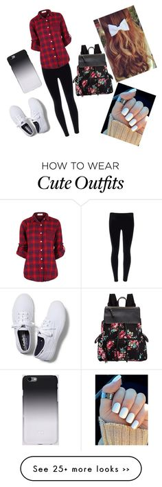"""""""Lazy day school outfit"""" by bekahandersen on Polyvore"""