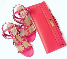 Kelly Cut and Valentino sandals