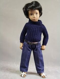 I always wanted a Sasha Doll from FAO Schwarz when I was a little girl.