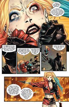[Comic excerpt] she is speakin facts tho (batman 99)