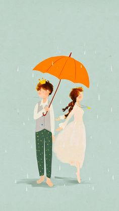 umbrellas.quenalbertini: Love in the rain