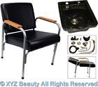 Black Ceramic Shampoo Bowl Auto Recline Chair Oak Beauty Barber Salon Equipment - http://health-beauty.goshoppins.com/salon-spa-equipment/black-ceramic-shampoo-bowl-auto-recline-chair-oak-beauty-barber-salon-equipment/