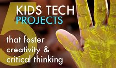 Digital Media Projects that Foster Creativity & Critical Thinking in Kids Projects to Promote Media Literacy in KidsProjects to Promote Media Literacy in Kids Teaching Technology, Educational Technology, Teaching Resources, Learning Activities, Higher Order Thinking, Media Literacy, Project Based Learning, Middle School Science, Science Lessons