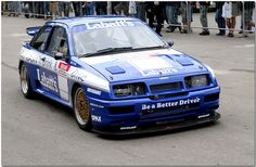 Ford Sierra Cosworth BTCC Goodwood Festival of Speed 2008 Ford Sierra, Ford Rs, Car Ford, Us Cars, Sport Cars, Bmw E36, Le Mans, Touring, E36 Coupe