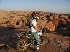 Hell's Revenge to Slick Rock Trail, Legendary DualSport Ride http://esr.cc/YLPxfx  #motorcycle #roads #adventure