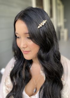 Hair jewellery coming soon from Hansel and Oath. Hair Jewellery, Diamond Earrings, Drop Earrings, Bridal Hair Accessories, Hair Comb, Jewels, Beautiful, Fashion, Moda