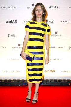 Sofia Coppola Looked Like a Sparkly Bumblebee -- The Cut