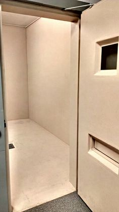 Safety (Padded) Cell in Central Booking