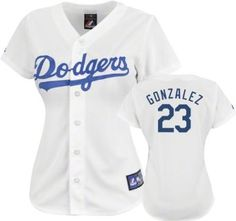 Los Angeles Dodgers - Adrian Gonzalez - Women's Home Replica Baseball Jersey