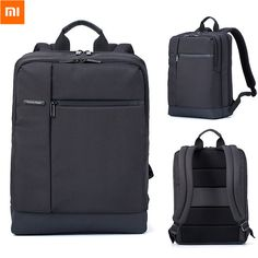 Xiaomi Classic Business Backpack Sleek and Slim Waterproof Laptop Backpack with Padded Cushion Provides Ultimate Protection for your Electronic Devices. Padded