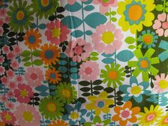 vintage fabric...love this for my girls