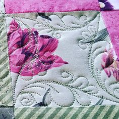 I love when a new design stitches out the way I envisioned.... new twist on a TerriTwist!