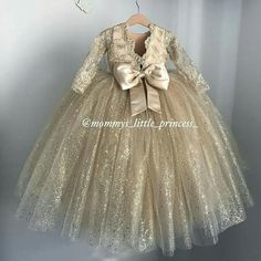 Baby girl Wedding Dress Baby Girl Wedding Dress, Baby Girl Dress Design, Wedding Dresses For Girls, Baby Gown, Party Wear Dresses, Little Girl Dresses, Cute Dresses, Girls Dresses, Flower Girl Dresses
