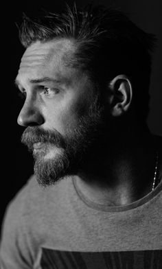 Tom Hardy photographed by Jeff Vespa. Posting this again because: HQ! (X)