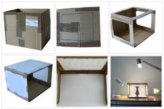making a light box for photos of jewlry | here let's share some useful and simple tips of how to take jewelry ...
