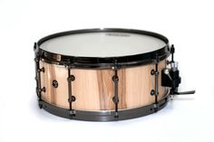 Handmade Hickory Snare Drum by CanyonDrumworks