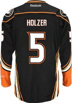 Anaheim Ducks Goalie Frederick ANDERSEN  31 Official Home Reebok Premier  Replica NHL Hockey Jersey ( f082f9f9b
