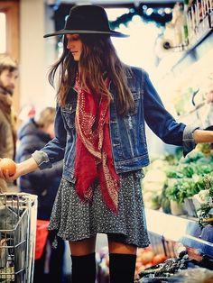Sexy layered Bohemian clothing, gypsy bandana scarf, with modern hippie short dress. For the BEST boho chic fashion & jewelry FOLLOW http://www.pinterest.com/happygolicky/the-best-boho-chic-fashion-bohemian-jewelry-gypsy-/