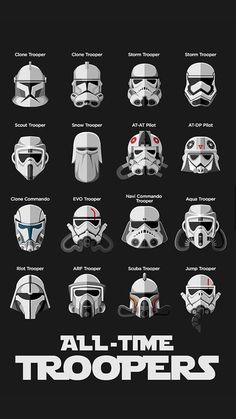 All of the Stormtrooper #StarWars
