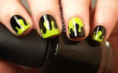 The Nailasaurus: Reader, beware, you're in for a scare! (Goosebumps Nail Art) - Oh heck yeah! \m/