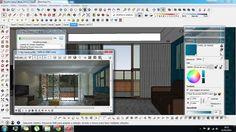 SALA - Projeto de ambientação com aproveitamento de mobiliário existente - EM ANDAMENTO  Projeto: Jonathas Barros Modelagem: Sketchup Pro 2015 Render: V-ray 2.0