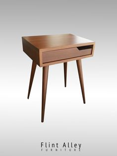 Hey, I found this really awesome Etsy listing at https://www.etsy.com/listing/230080294/mid-century-nightstand-single-drawer