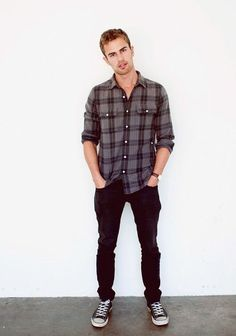 Simple flannel and jeans