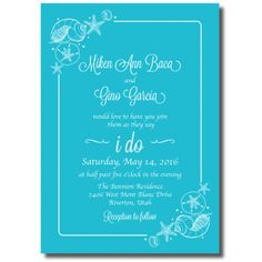 Beautiful Wedding Announcements One Sided Colorful Wedding Invitations, Affordable Wedding Invitations, Cheap Wedding Invitations, Wedding Colors, Pregnant Wedding Dress, Wedding Announcements, One Sided, Wedding Cards, Awesome
