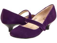Gabriella Rocha Ginger Purple Suede Leather - 6pm.com