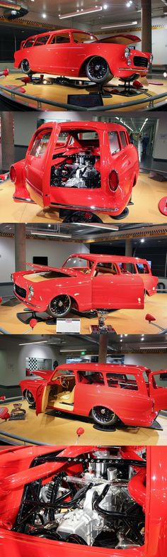 "1960 ""Ferrambo"" Rambler American Station Wagon with a Ferrari drivetrain."